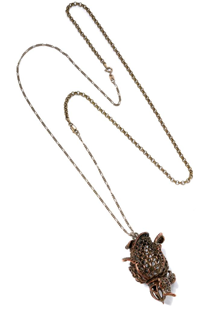 4direid-rose-pendand-925-brown--silverwith-diamonds