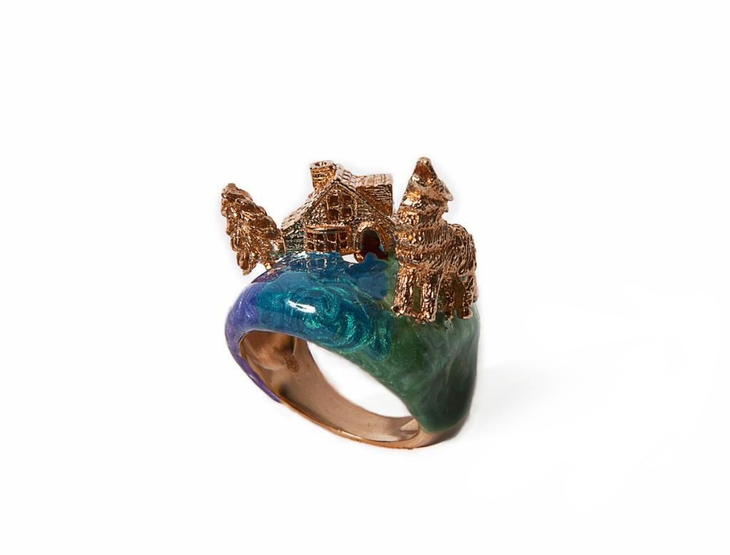 5-Aurora-borealis-ring--925-brown-silver-enamel-diamonds